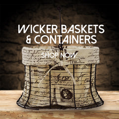 wicker gift baskets and containers toronto canada