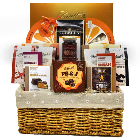 Easter gift baskets baskets and boards a chocolate picnic wholesale gift basket negle Gallery