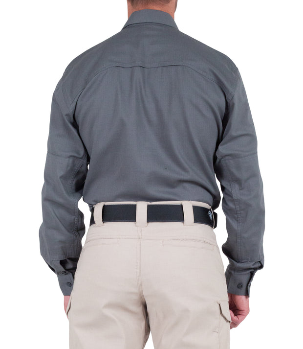 Men's V2 Tactical Long Sleeve Shirt / Wolf Grey