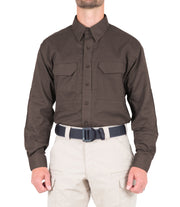 Men's V2 Tactical Long Sleeve Shirt / Kodiak Brown