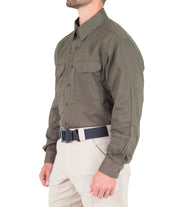 Men's V2 Tactical Long Sleeve Shirt / Ranger Green