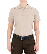 Women's Cotton Short Sleeve Polo with Pen Pocket