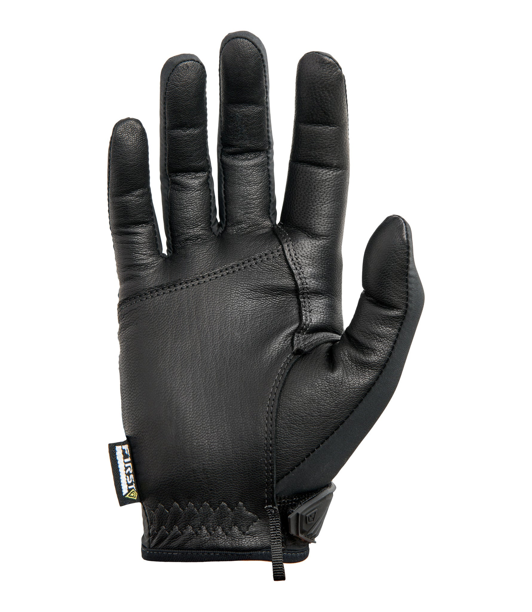 Black gloves mens - Black Palm