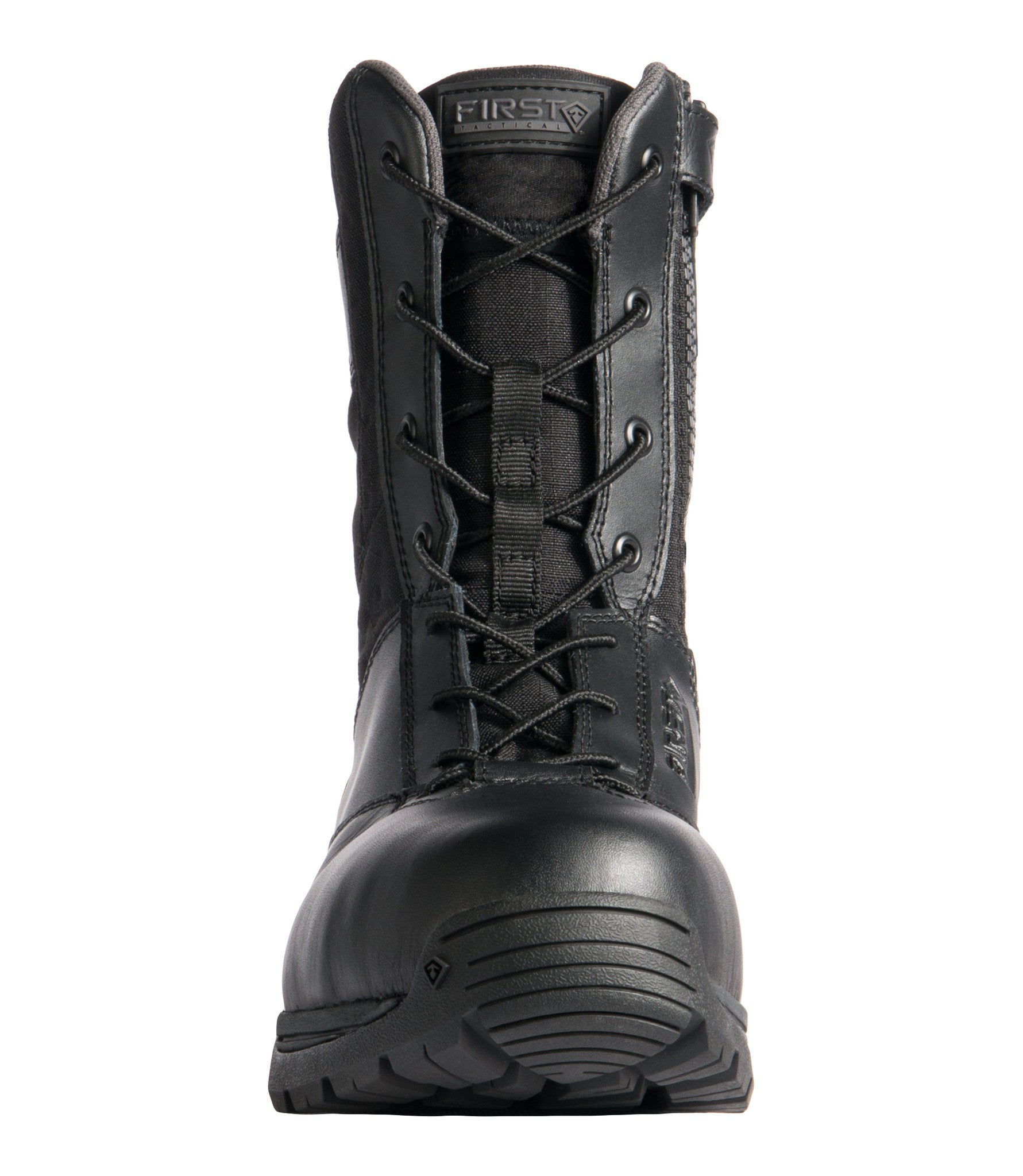 Men S 8 Safety Toe Side Zip Duty Boot First Tactical