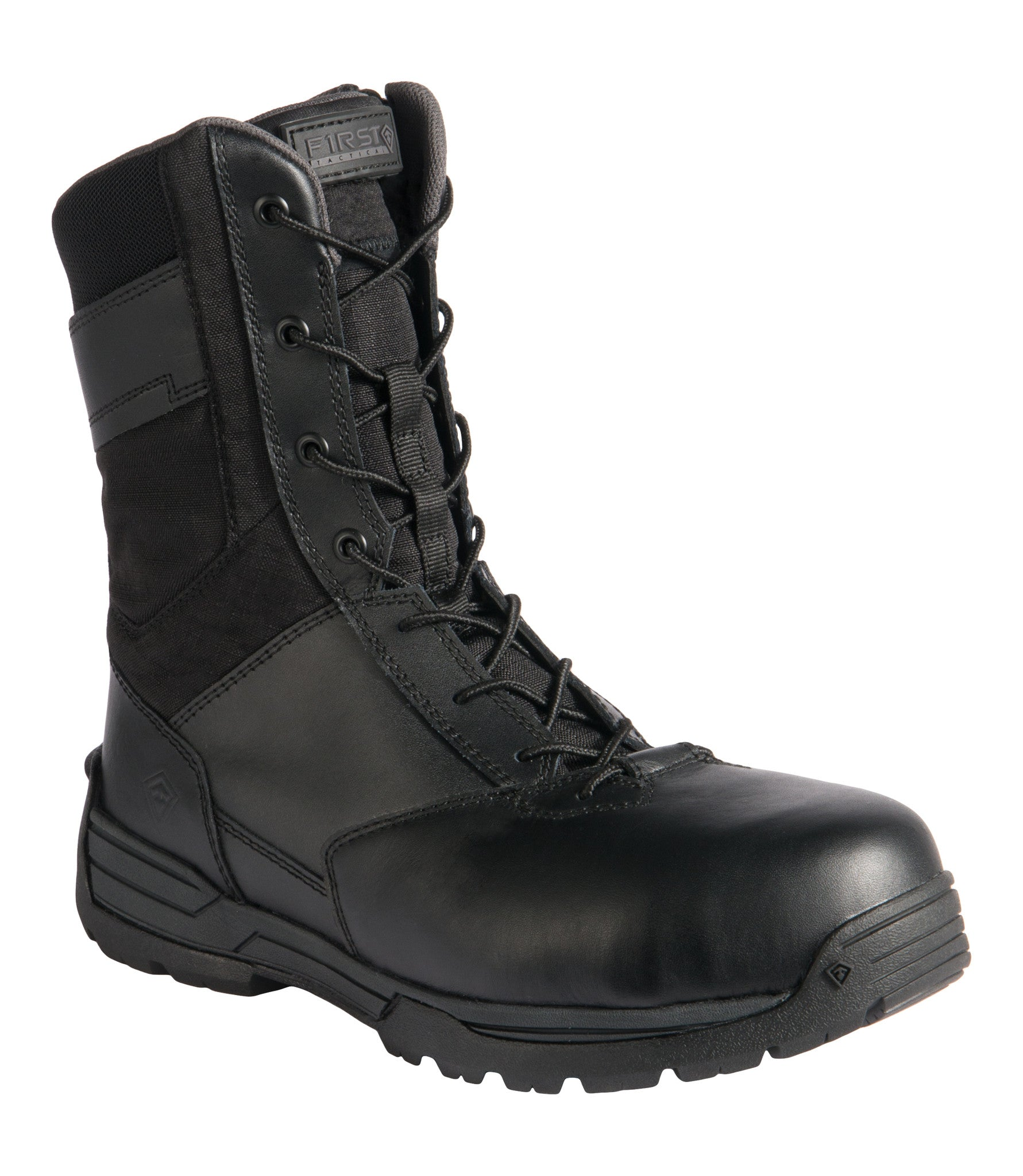 """5128a8954977b7 Men's 8"""" Safety Toe Side Zip Duty Boot 