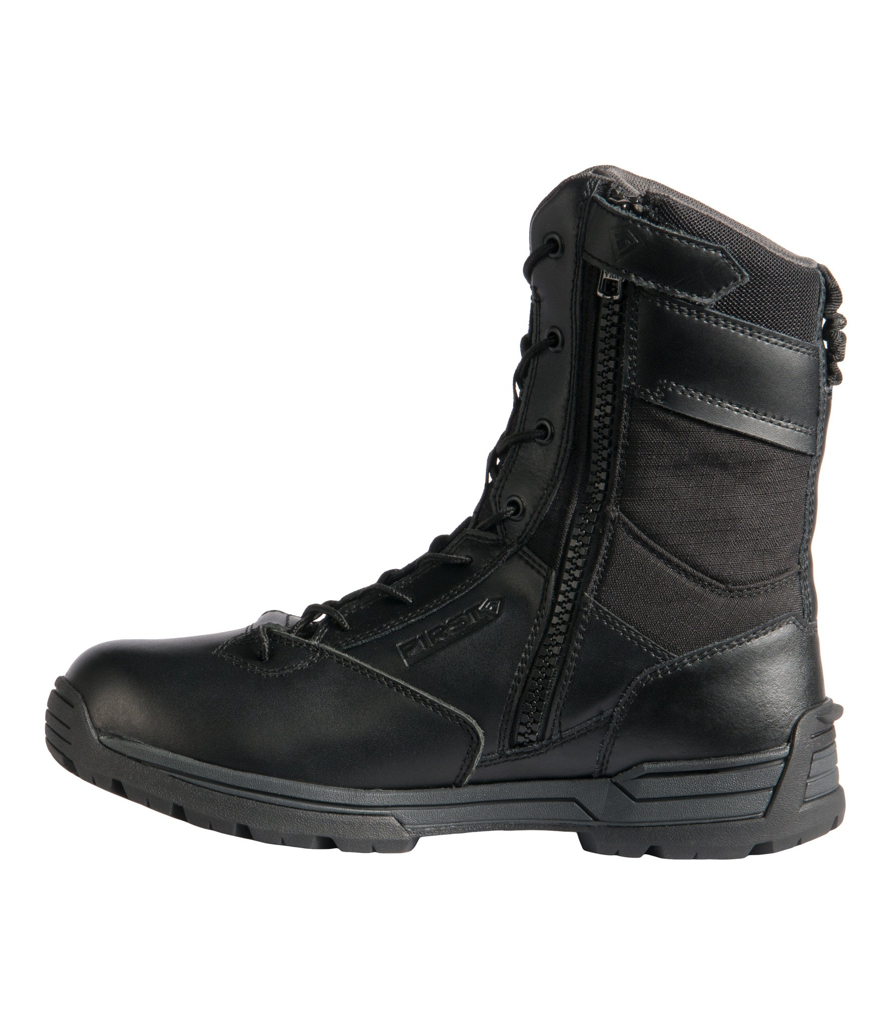 "183b6fd6a8e Men's 8"" Waterproof Side Zip Duty Boot"