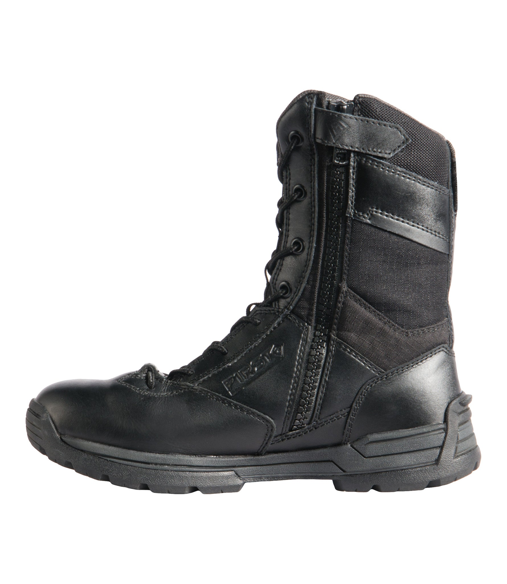 """4db3be9ae5d Women's 8"""" Safety Toe Side Zip Duty Boot"""