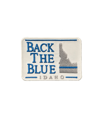 Back The Blue Idaho Patch