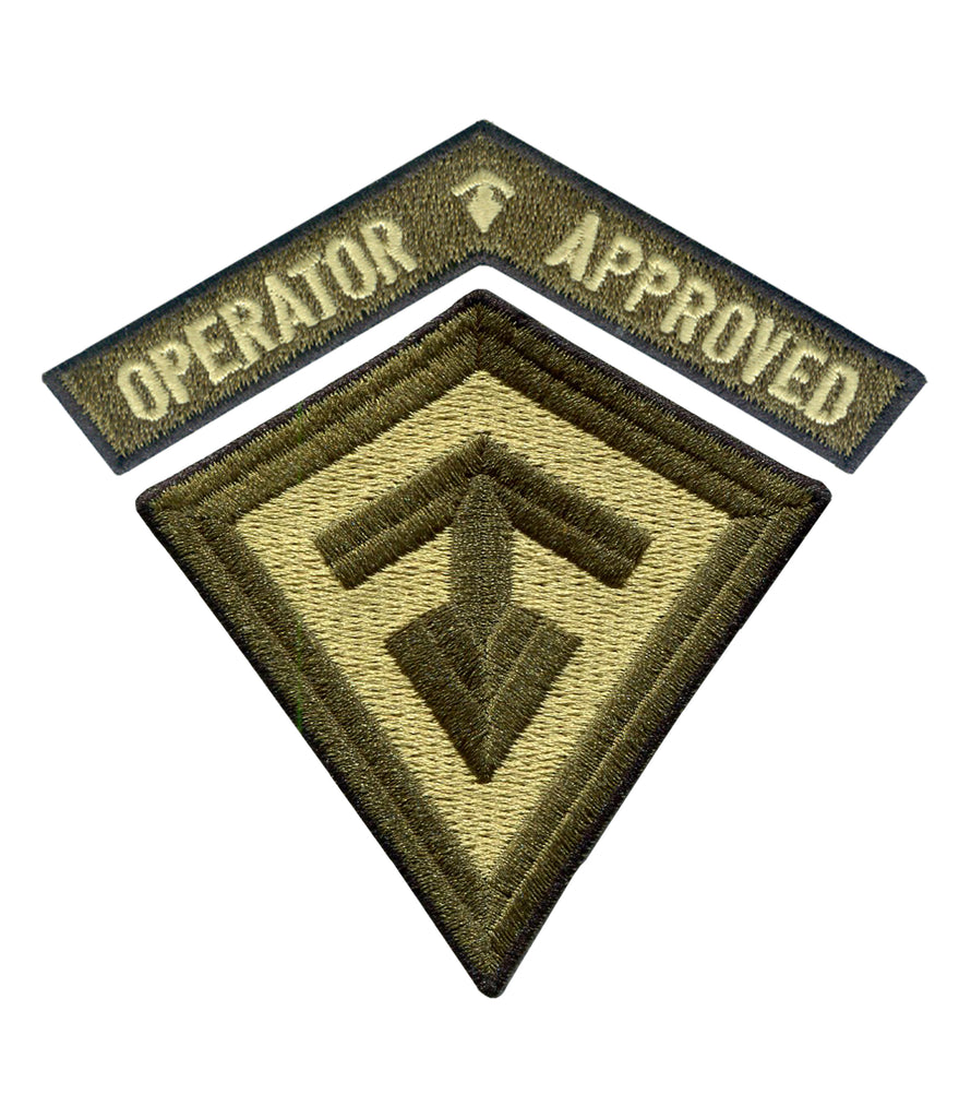 Operator Approved 2 Piece Patch Set