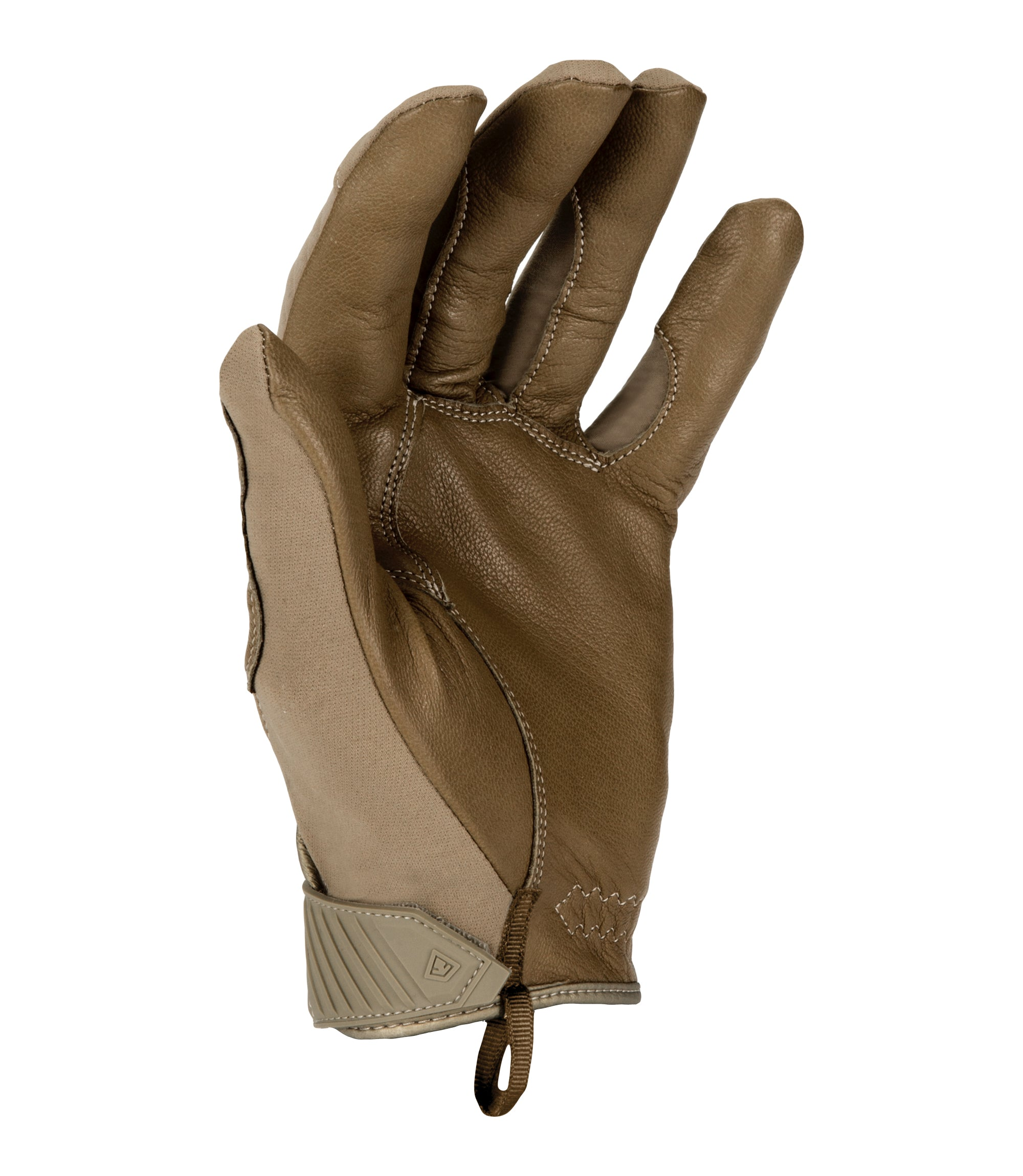 Black, Small First Manufacturing Mens Light Weight Gloves