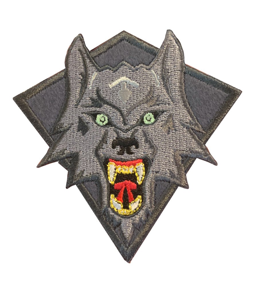 Wolf Grey Patch