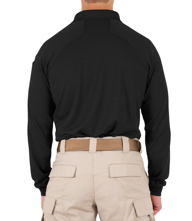 Men's Performance Long Sleeve Polo