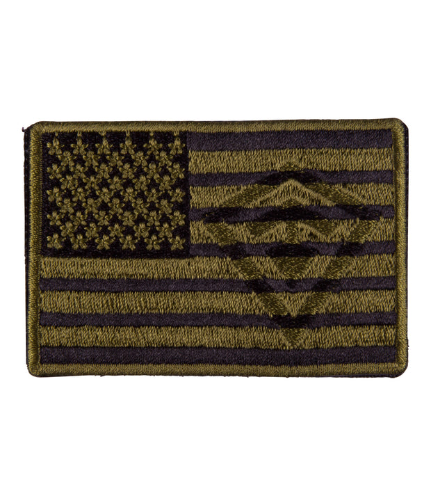 OD Green Flag Patch