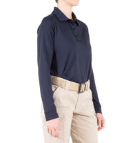 Women's Performance Long Sleeve Polo