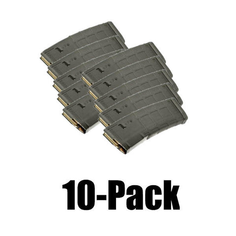 10-Pack Pmags Foliage Green Finish