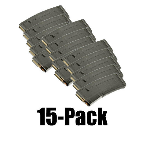 15-Pack Pmags  Foliage Green Finish