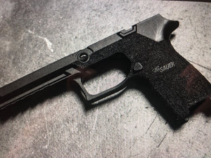 P320 custom stippled frames
