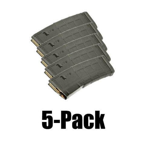 5-Pack Pmags Foliage Green Finish