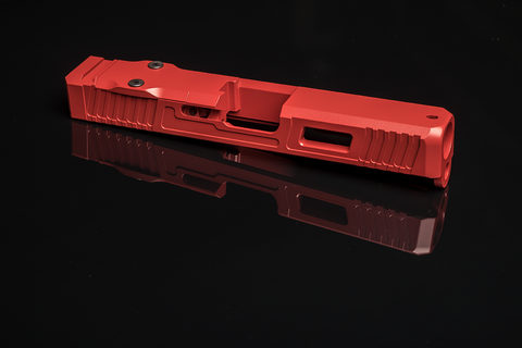 Custom G19 Glock Slide - Red