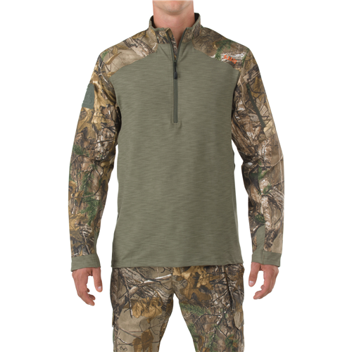 5.11 TACTICAL Realtree 1-4 Zip - Bullseyebishop  - 2