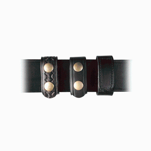 BOSTON LEATHER BELT KEEPER 1 WIDE ,  HIDDEN - Bullseyebishop  - 2