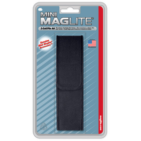 AA Mini MAG nylon Flap Holster