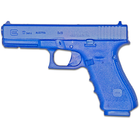 BLUE TRAINING GUNS - GLOCK 17 GENERATION 4