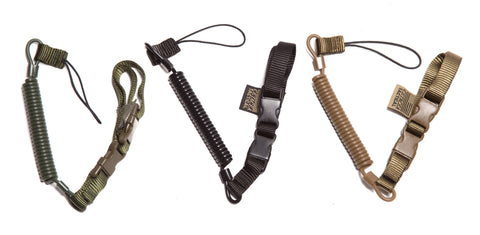 Plain Clothes Officer Mini-Coil Lanyard