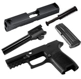 CALIBER X-CHANGE KIT, P320 COMPACT, 9MM, BLK, 10 ROUND MAG
