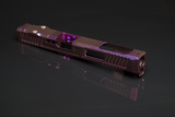 Custom G34 Glock Slide - Chameleon Purple