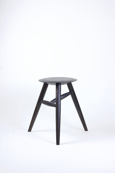 Milked stool / side table