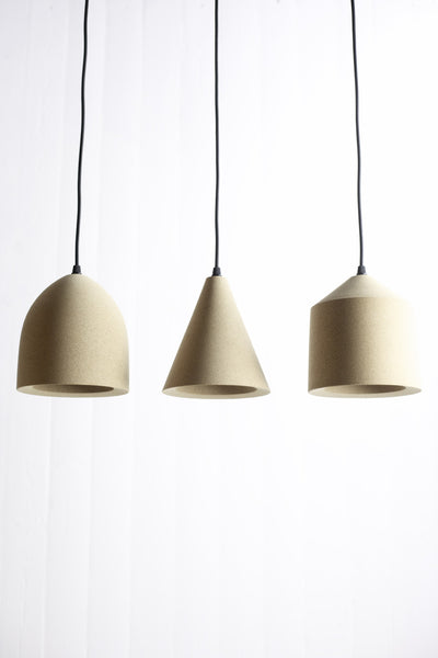 Tir Cork Pendant Light Headandhaft