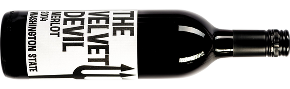 Charles Smith Wines The Velvet Devil Merlot 2015