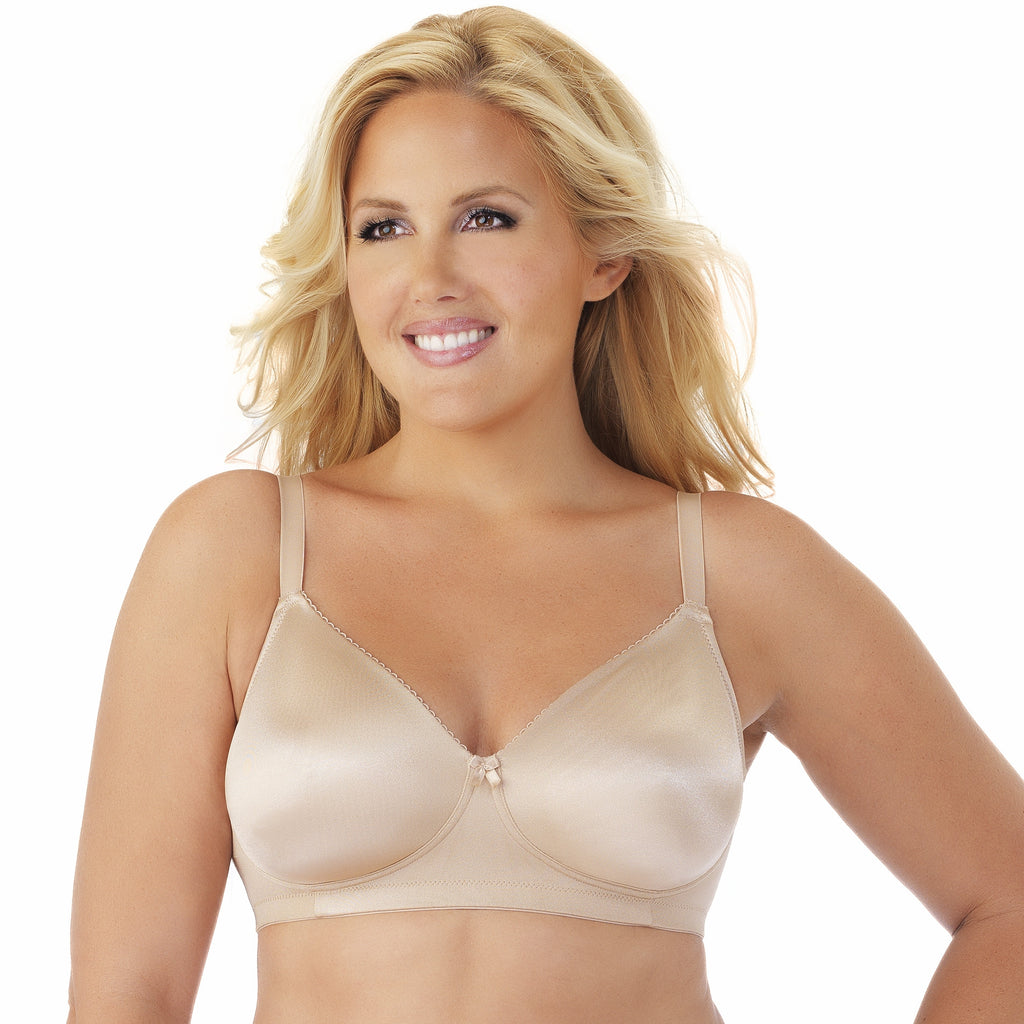 Side Shaper Wire-Free Bra 2 Pack - Latte/White full screen