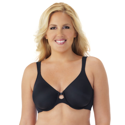 Comfort Essentials Cooling Touch Underwire Bra - Black quickview