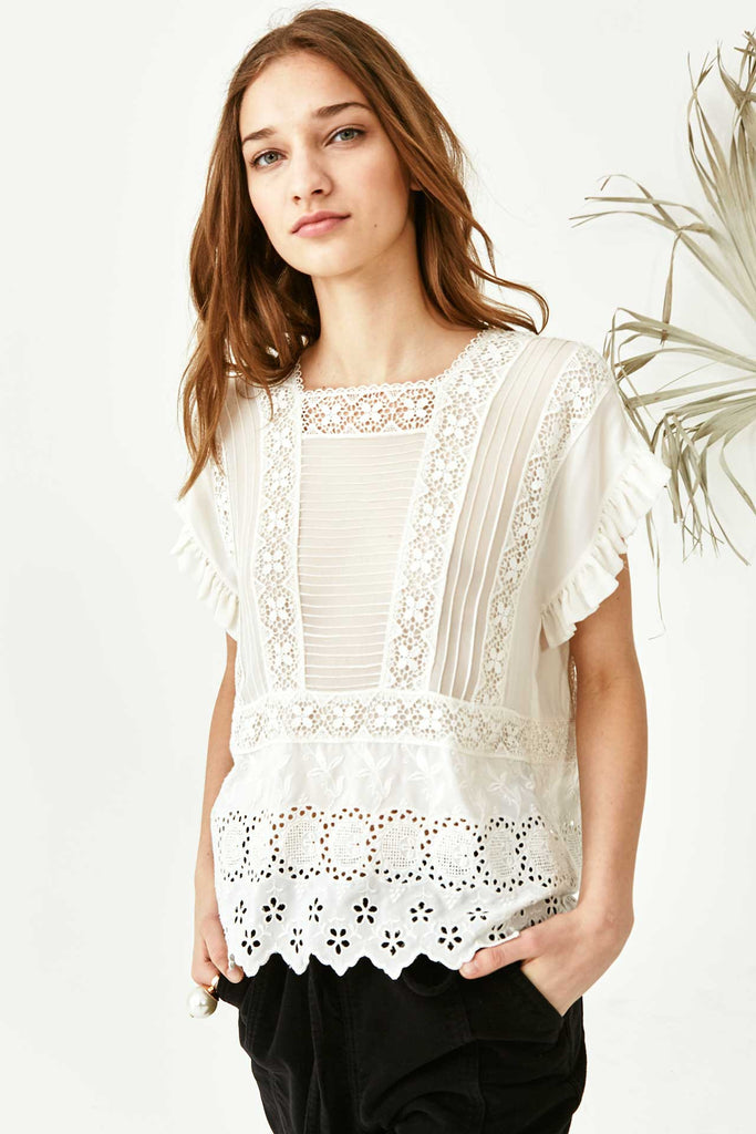 Ulla Johnson Adrienne Blouse