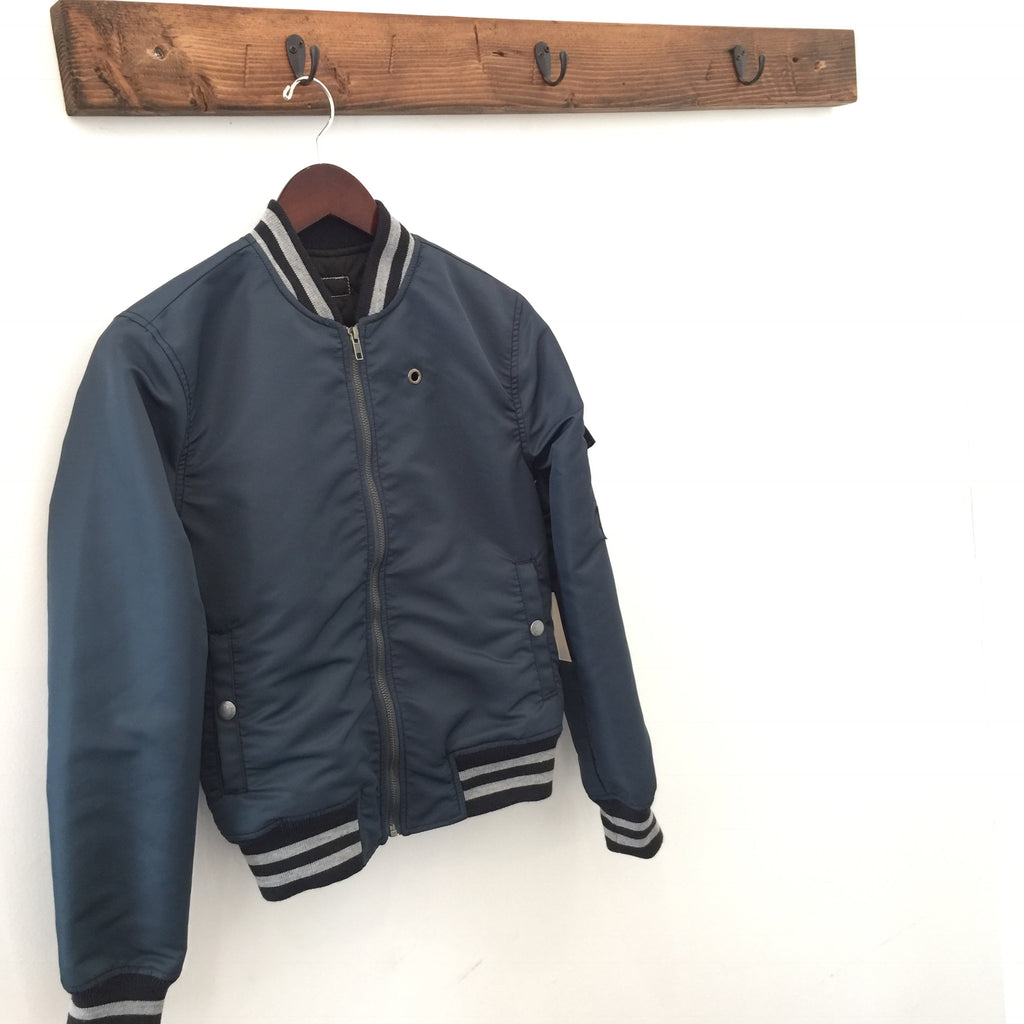 Mother The Aviator Jacket Navy