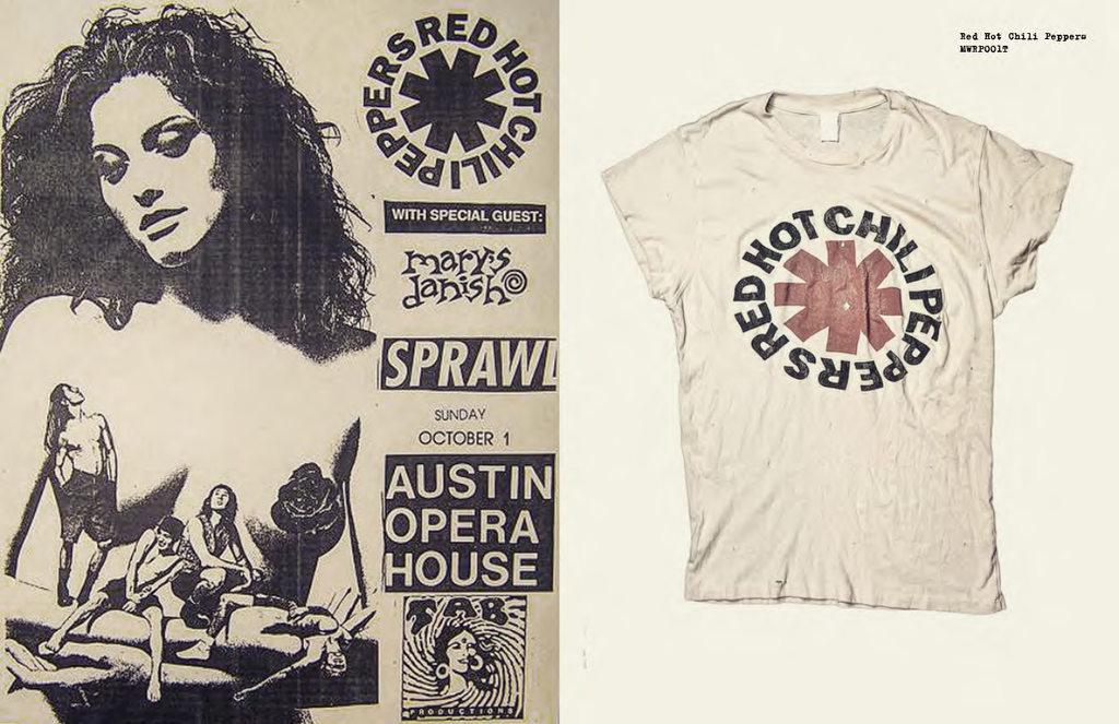 MadeWorn Rock Red Hot Chili Peppers