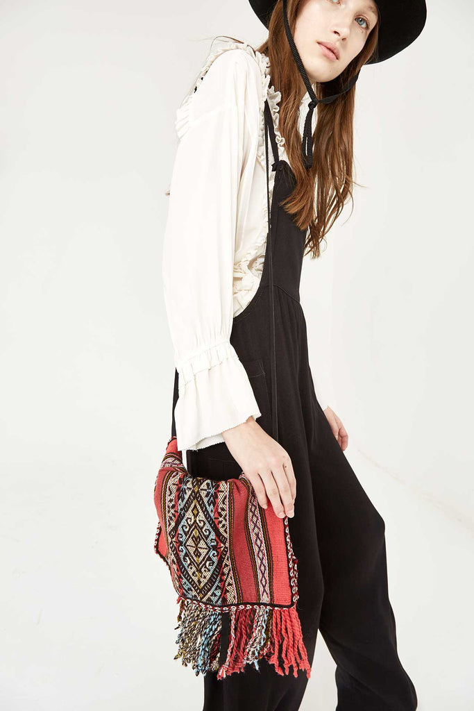 Ulla Johnson Mayan Handloom Handbag