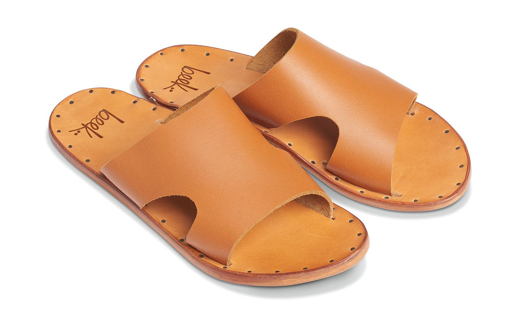 Beek Blackbird Sandals in Tan/Tan