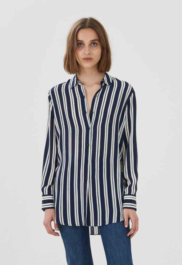 M.i.h Simple Shirt Finnish Stripe
