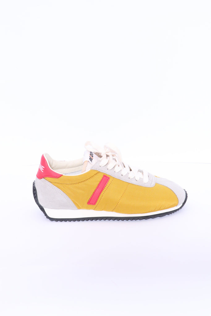RE/DONE 70s Shoe in Yellow Red