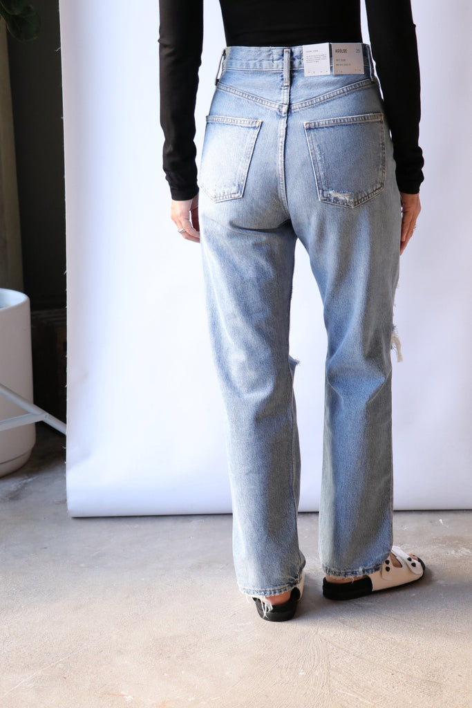 Agolde 90's Jean in Major Bottoms AGOLDE