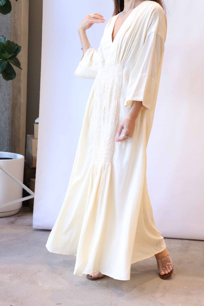 Mara Hoffman Benecia Dress in Cream