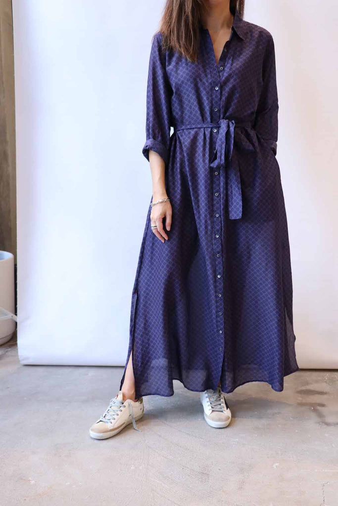 Xirena Boden Dress in Agate Blue