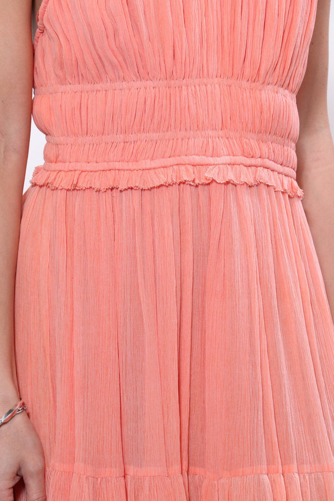 Ulla Johnson Freesia Gown in Coral