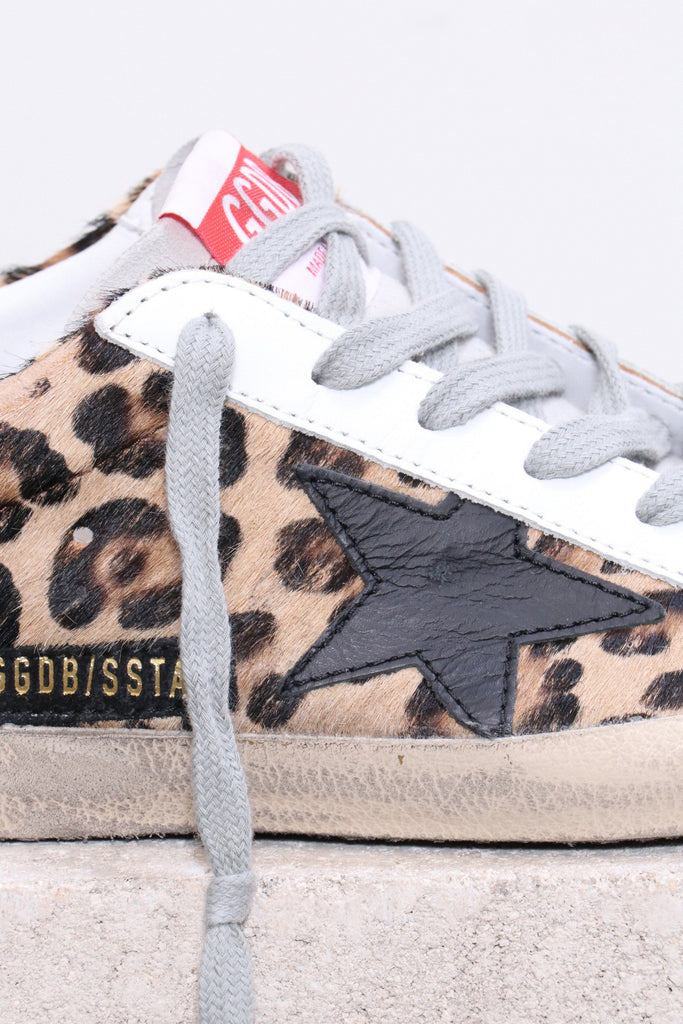 Golden Goose Superstar in Snow Leopard Royal - WE ARE ICONIC
