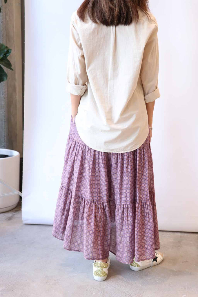 Xirena Iris Skirt in Raw Amber
