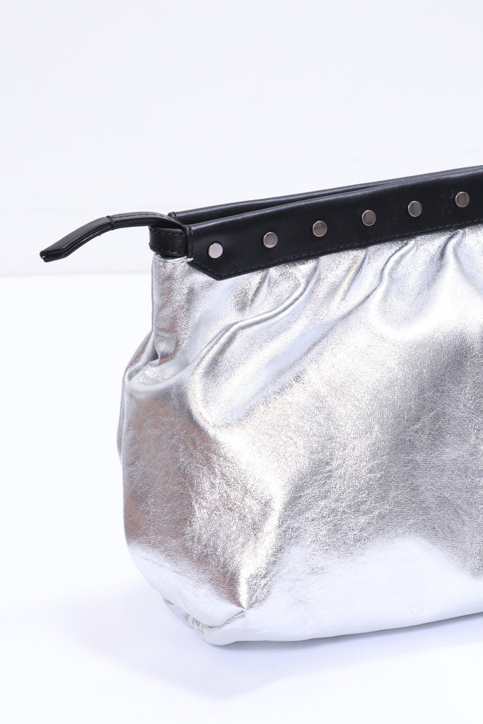 Isabel Marant Etoile Luz Pouch in Silver