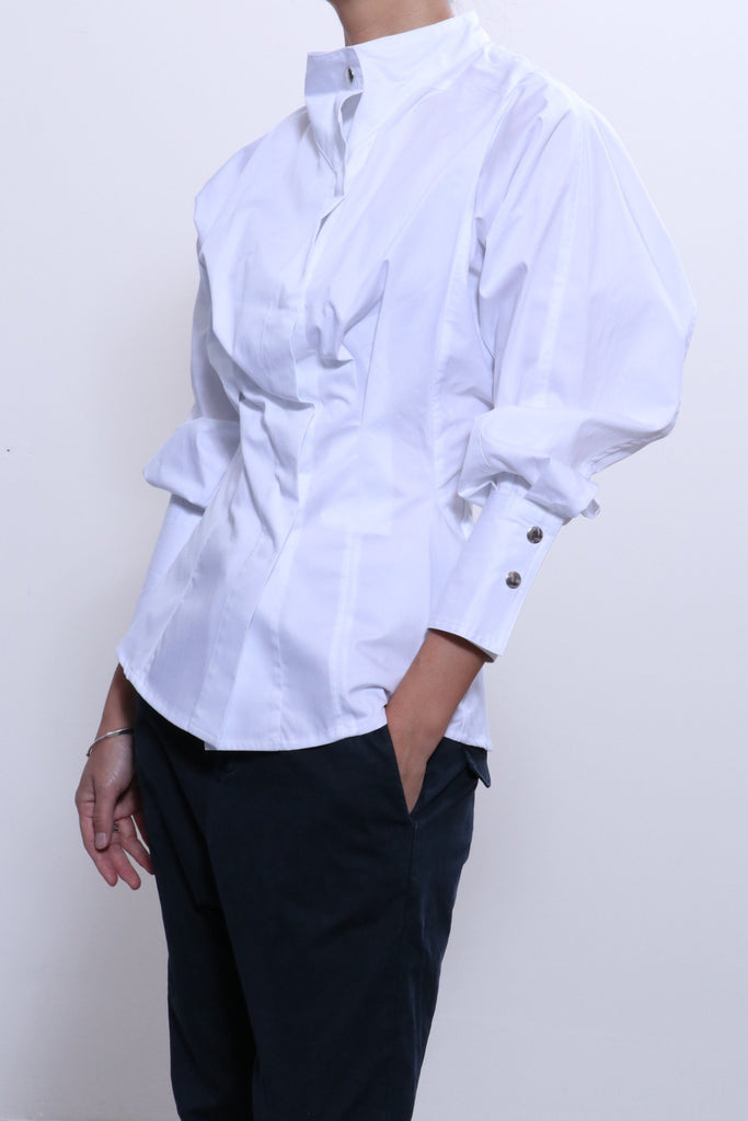 Isabel Marant Etoile Omeo Top in White - WE ARE ICONIC
